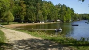 campgrounds near me with lakes